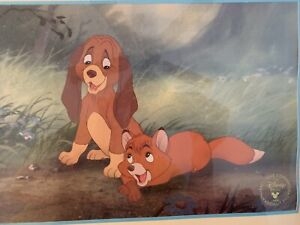 Disney ~ The FOX and the HOUND Exclusive Commemorative Lithograph 1994