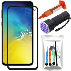 For Samsung Galaxy S10e Front Touch Screen Glass Replacement Lens LOCA Glue Tool