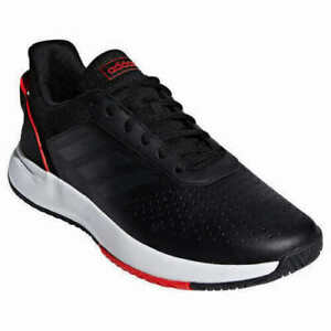 New - Adidas Men's Courtsmash Tennis Shoes Athletic Black White Red - PICK SIZE