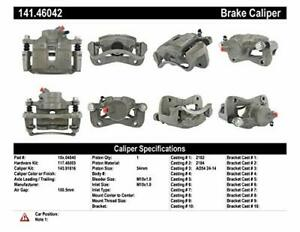 Centric 141.46042 Disc Brake Caliper Semi Loaded Caliper Front Left Reman $41.99