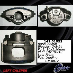 Centric 141.61051 Disc Brake Caliper Semi Loaded Caliper Front Right Reman $29.99