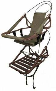 Climbing Treestand Portable Deer Hunting Bow Arrow Ladder Game Hang Seat Stand