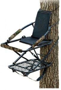 Climbing Treestand Portable Deer Hunting Climber Bow Ladder Big Game Hunt Seat