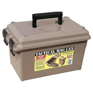 MTM TMC15 Dark Earth Tactical Magazine Ammo Can for 15 30 Round Mags