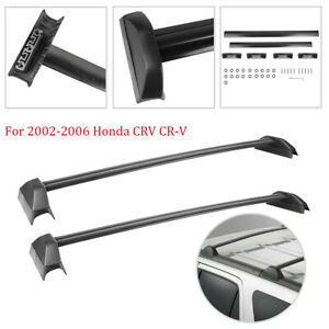 2PCS Luggage Carrier Cross Bar Crossbars Roof Rack For 2002-2006 Honda CRV CR-V