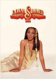 Wall Calendar 2020 [12 pages A4] DONNA SUMMER Vintage Music Photo Poster 1322