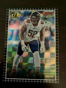 2019 Panini Donruss Football Edition Insert Action All Pros Khalil Mack $1.00