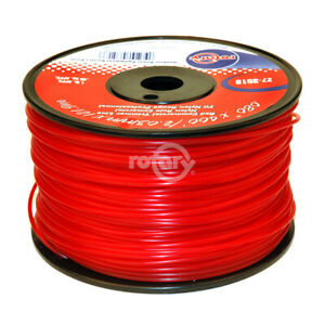 Trimmer Line .080 1# Spool Red Commercial Line