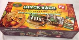 QUICK TACO Baking Rack AS SEEN ON TV