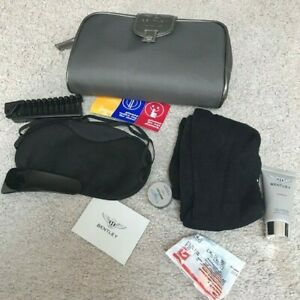 Bentley luxurious amenity kit from Turkish Airlines NEW