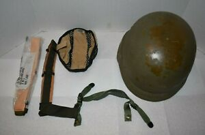 Vintage 1990's Military Issue Army Infantry Helmet PASGT W/ Kevlar Unicor