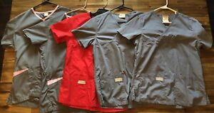 scrubs lot Of 5 Sz Small New But Washed Urban Scrubs amp; Fashion Seal