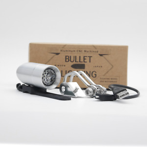 RINDOW BIKES BULLET LIGHTING Bicycle head light Mount Stay Set Silver NEW