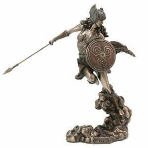 Norse Goddess Valkyrie Wielding Spear And Shield Myth amp; Legend. Sculpture $79.95