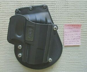 Fobus standard Paddle Holster for Walther p-22 right hand wp22