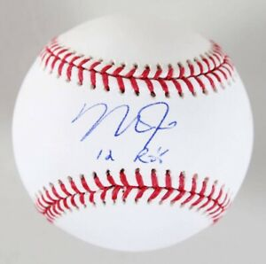 Mike Trout Autographed Baseball Steiner