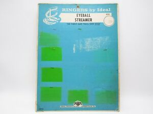 Vintage Ringers By Ideal Fishing Lure Store Display Advertising