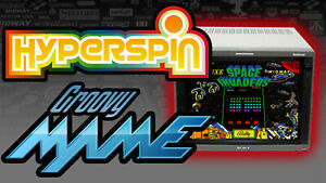 HyperSpin GroovyMAME Arcade PC - 7TB Hard Drive - Ready For CRT TV Monitor