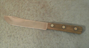 Antique Winchester No. 1104 Stainless Chef's Knife Wood Handle Skinning