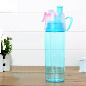 Sport Cycling Mist Spray Water  Beach Bottle  Leak-proof Drinking Cup
