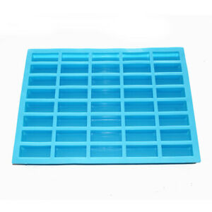 Small Rectangle Silicone Soap Mold Candy Chocolate Ice Cube Making Mold Supplies