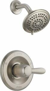 Delta Faucet Lahara 14 Series Single-Function Shower Trim Kit with 5-Spray