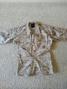 USGI USMC BDU Perimeter Insect Desert MARPAT Blouse Top Marines Small Regular