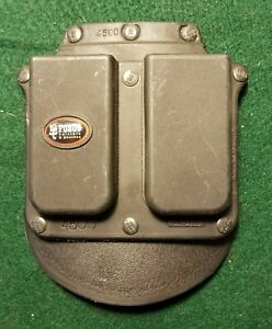 Fobus Roto Paddle 4500 Double Mag Pouch Single Stack .45