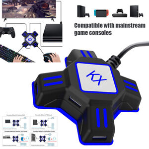 KX Adapter Mouse Keyboard Type-c USB Port Converter For SwitchXboxPS4PS3 US