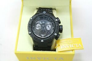Invicta Subaqua Noma VI Black Band Metal Gunmetal Dial Quartz Men's Watch 26649