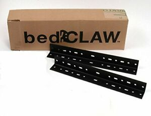 Bed Claw 13 Inch Steel Universal Bed Frame Extension Rails 1.5quot;x1.5quot; Set of 2