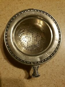 Silverplate Tea Strainer Infuser • Vintage $16.00