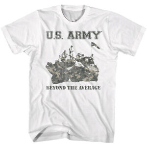 US Army Camouflage Tank Beyond the Average Men's T Shirt United States Military