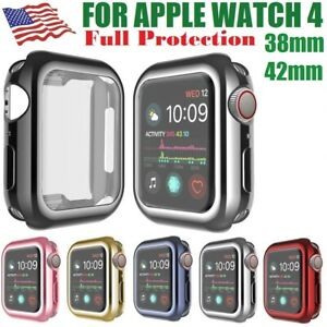 Apple Watch Case Hard Bumper Full Cover Screen Protector For iWatch 42mm 38mm
