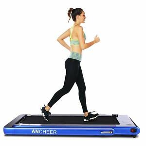 ANCHEER 2 in 1 Folding Electric Treadmill 2.25HP Running Machine