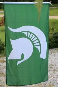 Michigan State Spartans College Football FLAG 3x5 FREE FAST SHIPPING