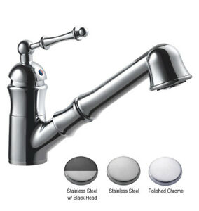 Hamat 3-3176 Richmond Traditional Pull-out Kitchen Faucet