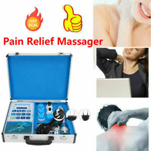 Cervical Neck Massager Physical Therapy Electromagnetic Shock Pulse Pain