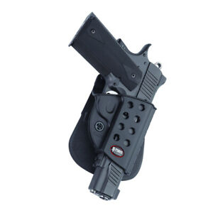 Fobus 1911 Right Hand Roto Evolution Paddle With Rail Holster R1911rp