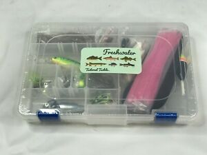 NEW Freshwater Fishing Tailored Tackle Kit #FK1 - Includes Lures Rigs
