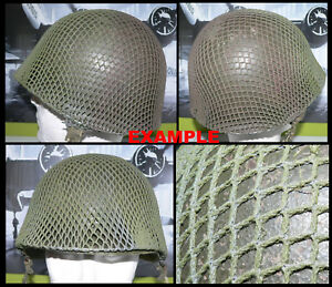 U  1 (One) x WWII US M1 Helmet net - Different type - colors available