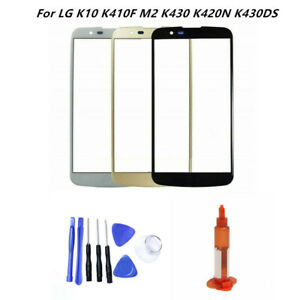 Front Outer Lens Glass Screen Replacement For LG K10 K425 MS428 K428SG K428 K430
