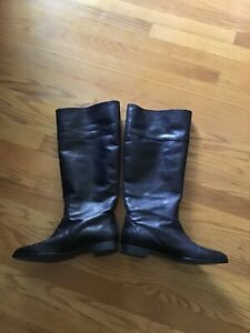 EUC JCrew the booker tall boots black size 11