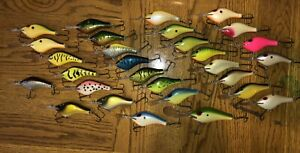 Vintage Poe's Fishing Lures Lot Of 29