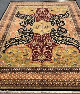 Beautiful Large Brand New High Quality Rug Handmade In India Serapi Design 12x15