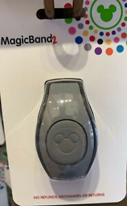 Disney Parks Gray Magic Band 2 MagicBand NIP Ready to Link Solid Color Grey