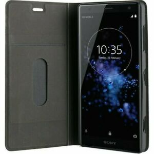 Roxfit Sony Xperia XZ2 Standing Book Case - Black - URB5182B - FACTOTRY SEALED