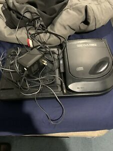 Sega CD Model 2 Console And Cords