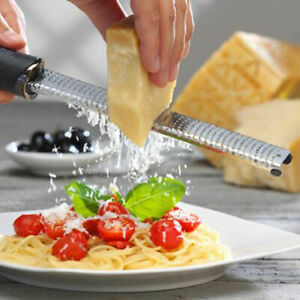 Lemon Orange Citrus Peeling Grips Fruit Zester Grater Kitchen Stainless Steel