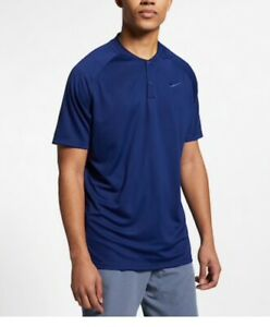 Men's Nike Dri-FIT Momentum's Standard Fit Golf Polo Shirt Size Med.  NWT